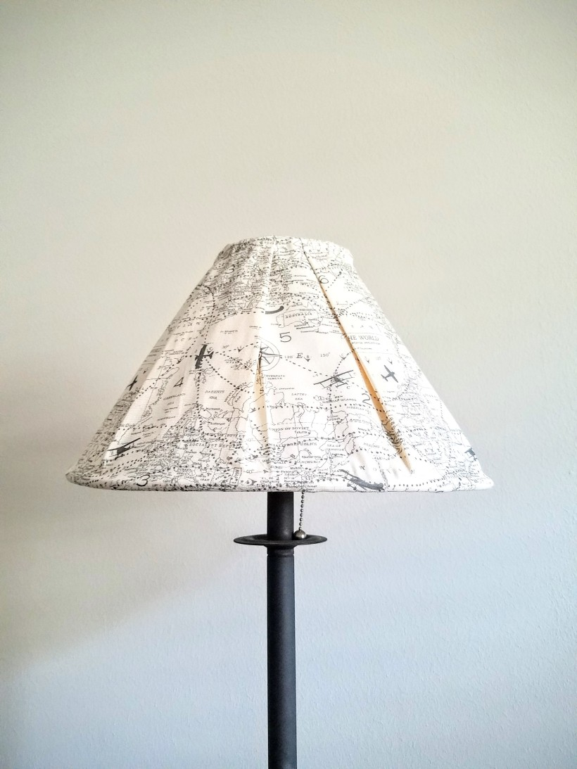 Lamp Shade Cover DIY
