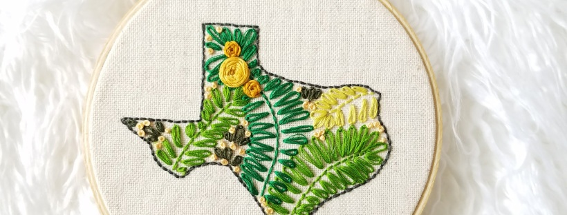 Texas Embroidery Hoop