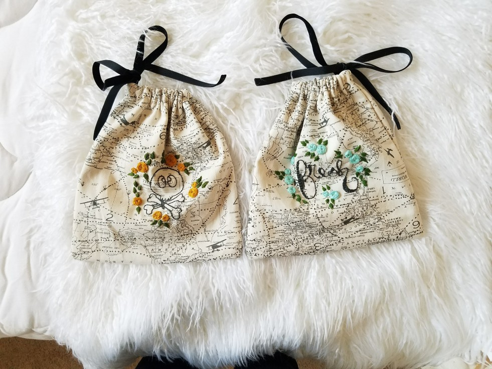 Embroidered Drawstring Bags Travel Tips