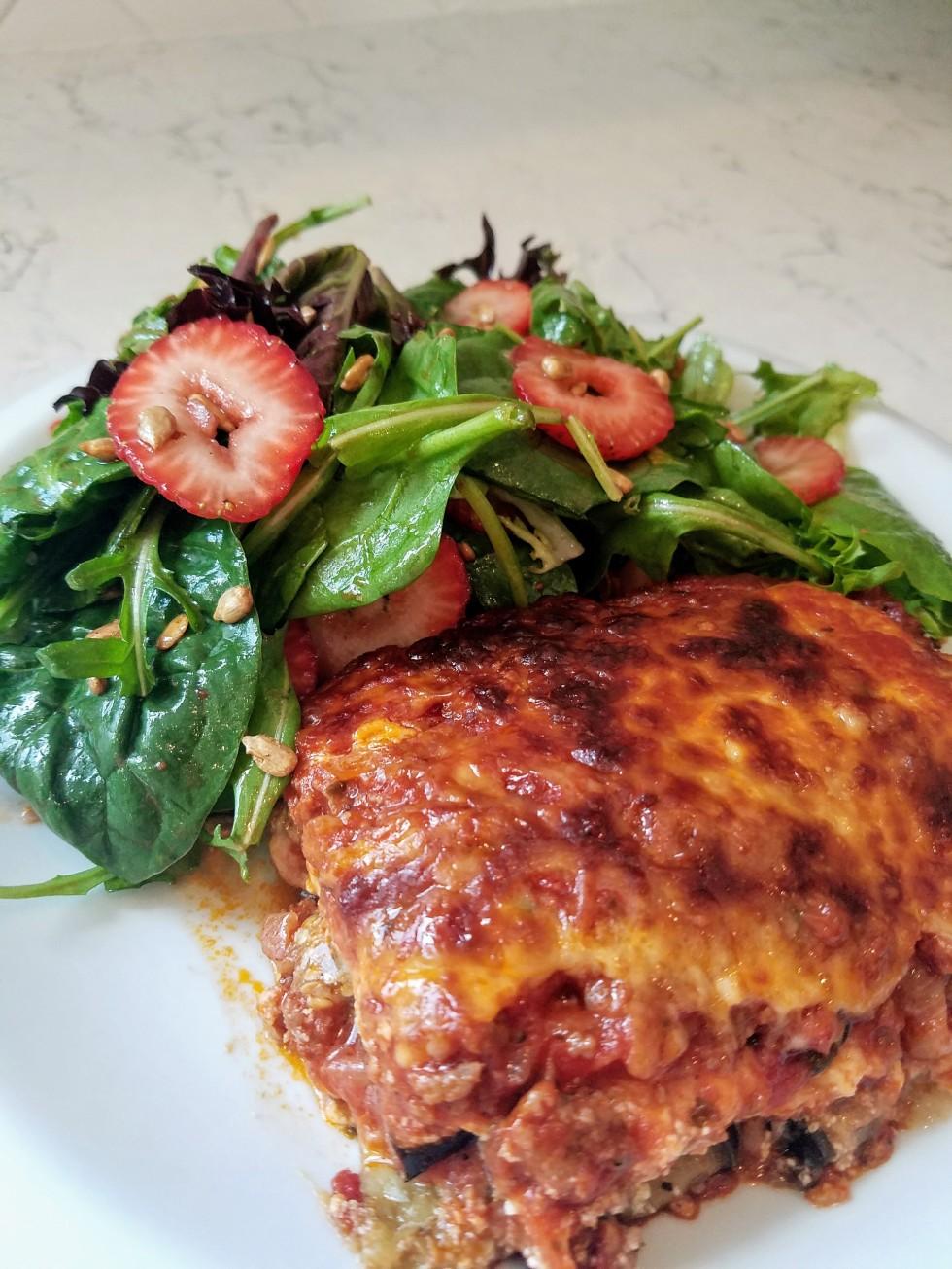 Low Carb Eggplant Lasagna Recipe