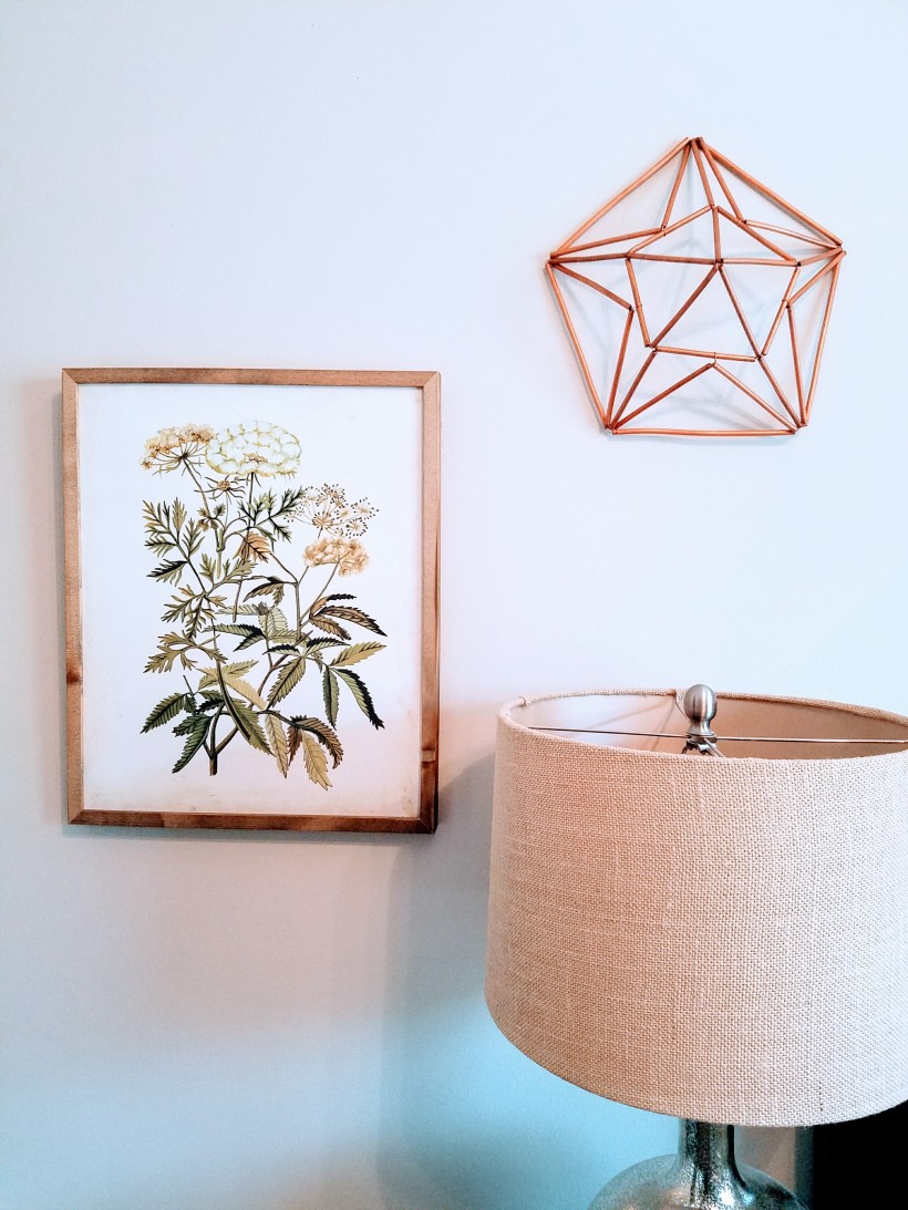 DIY 3D Himmeli Wall Art