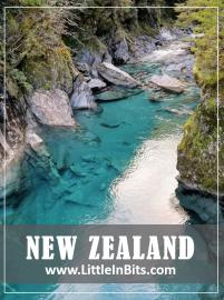 New Zealand Blue Pools